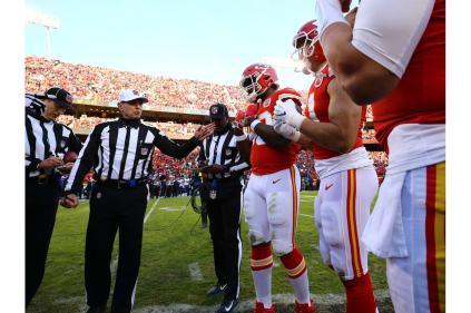 Tony Corrente and crew (Kansas City Chiefs)