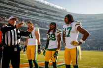 John Hussey discusses coin toss options (Green Bay Packers)