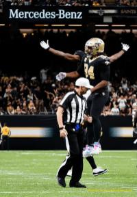 Referee Brad Allen (New Orleans Saints)