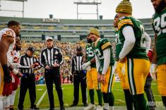 Greg Wilson, Clay Martin and Nate Jones (Green Bay Packers)