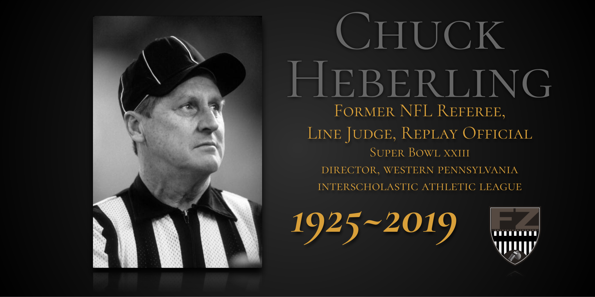 Chuck Heberling, referee of The Drive passes away