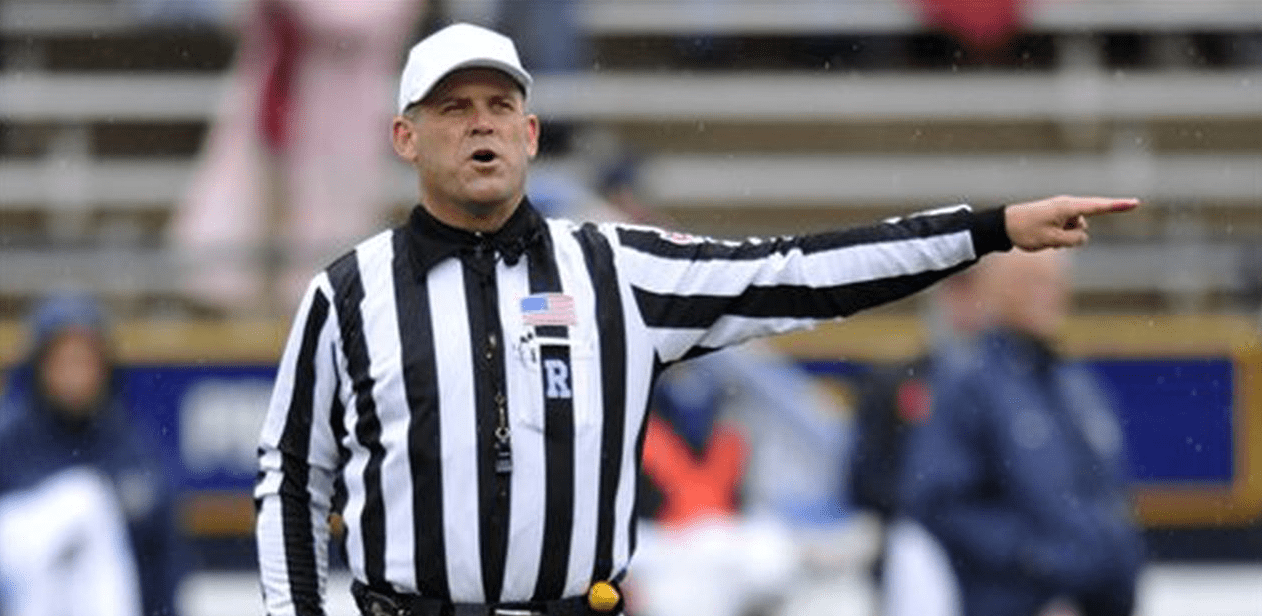 John McDaid leaves the field to be SEC officiating boss