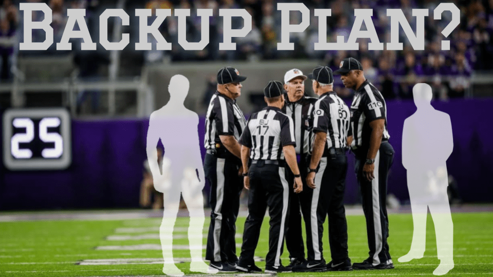 Prevent defense: NFL reviewing 5-man officiating mechanics in case of staffing shortages