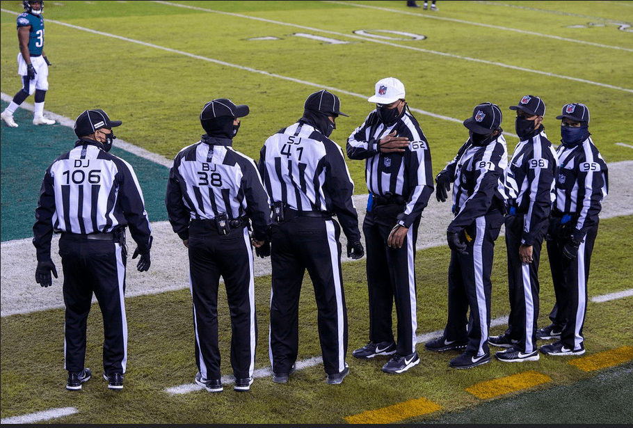 Officiating crews for the 2021 season