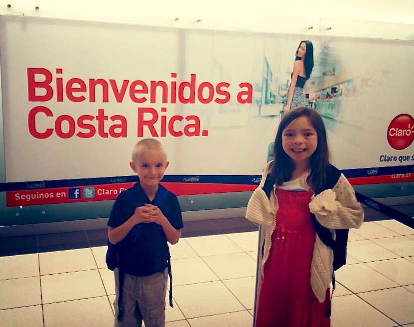 August 10, 2013: Our first day in Costa Rica as a family