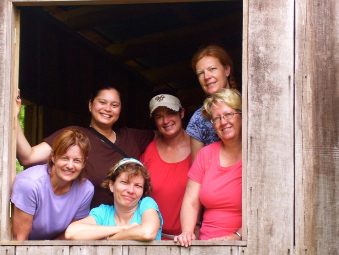 Women's team from Mission Hills Church, Littleton, CO. We ministered in a slum in San José and in the jungles of Talamanca, with an indigenous tribe called the Cabecar.