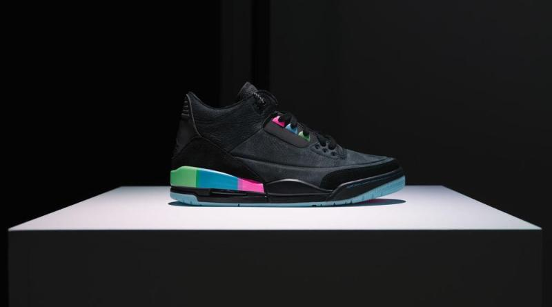 89a04bc2fb70 Air Jordan 3 Quai 54. Retro Basketball Trainers