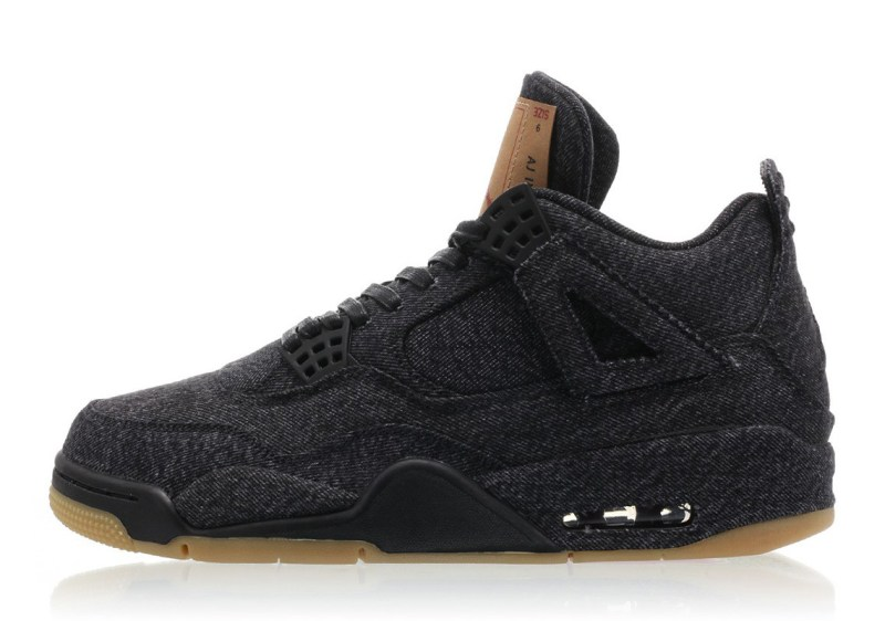 Levis x Air Jordan 4 Retro NRG Black Denim