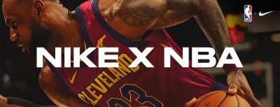 Nike x NBA Banner
