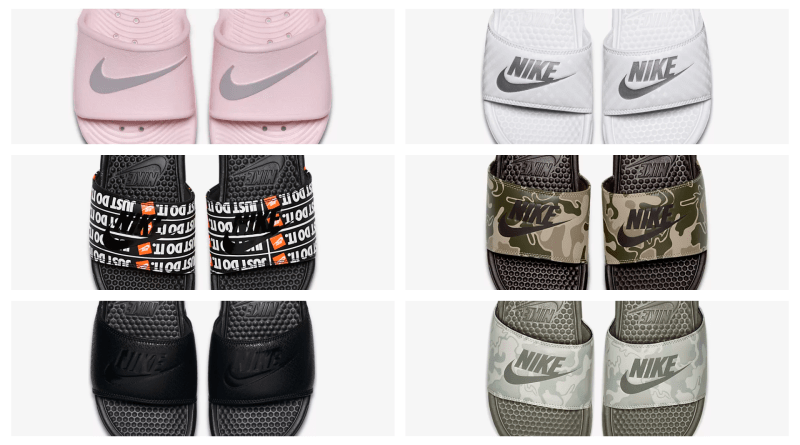 Nike Mens & Womens Sliders