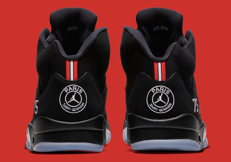 Air Jordan 5 Reto PSG back
