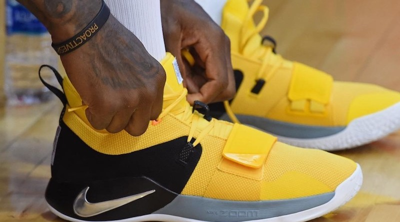 size 40 b2083 ae1c7 SALE - Nike Basketball PG 2.5 Amarillo | Foot Fire