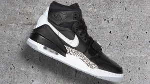 Air Jordan Legacy 312 Black Cement