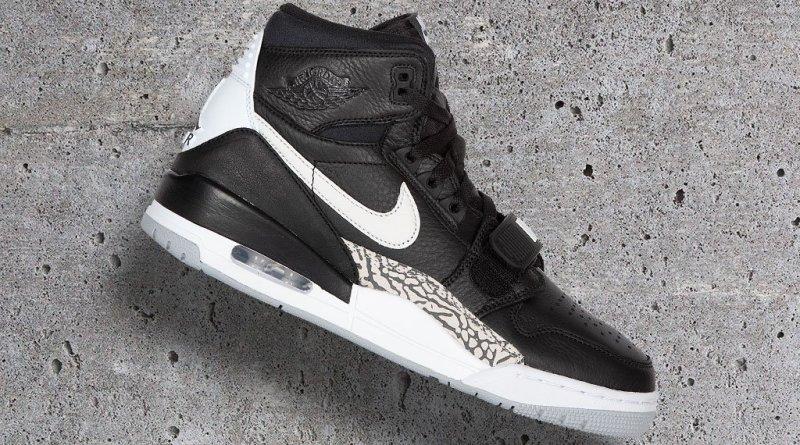 Air Jordan Legacy 312 Black Cement