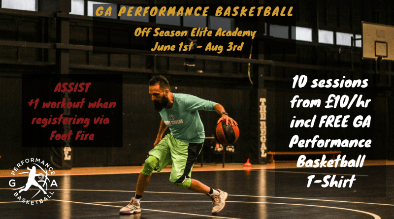G.A Performance Basketball Off Season Academy – SIGN UP