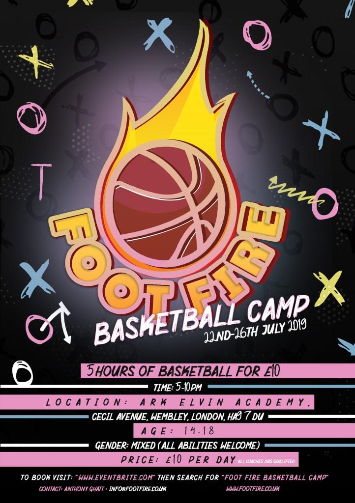 Foot Fire Summer Basketball Camp