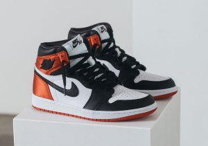 Where To Buy Air Jordan 1 Satin Black Toe