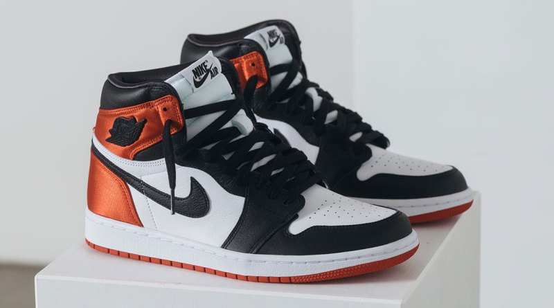 Where To Buy Air Jordan 1 Satin Black Toe