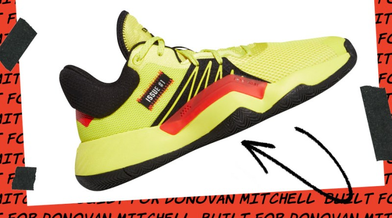 Adidas DON Issue 1 Solar Yellow EG5667 Now UNDER £60