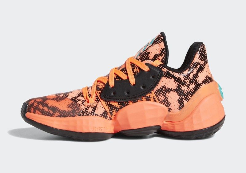 Adidas Harden Vol 4 Gila Monster FV4151 Now Available 2