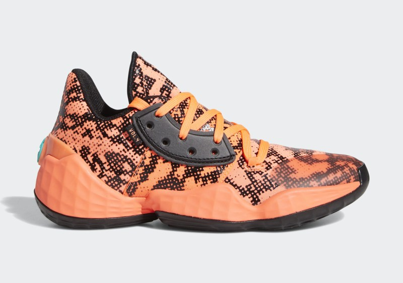 Adidas Harden Vol 4 Gila Monster FV4151 Now Available
