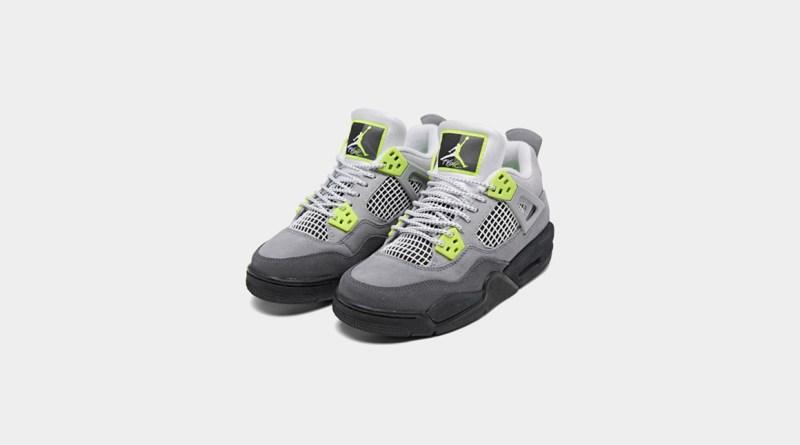 Air Jordan 4 SE Neon CT5342-007 Release Info UK Feature
