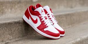 Where To Buy Air Jordan 1 Low Gym Red 553558-611 uk