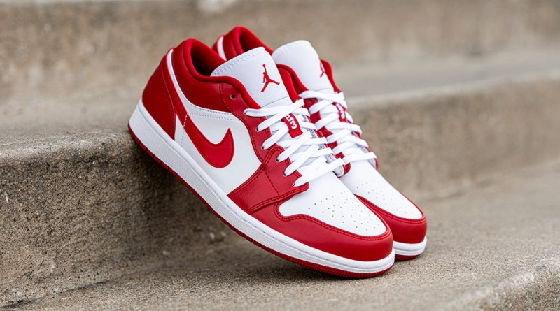Where To Buy Air Jordan 1 Low Gym Red 553558-611 uk