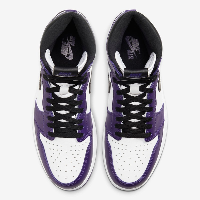 Where to buy Air Jordan 1 High Court Purple 555088-500 UK 4