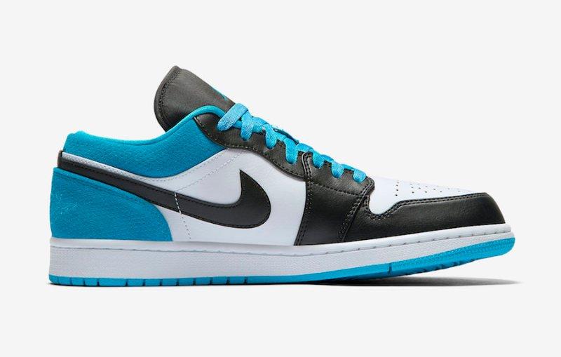 Where to buy Air Jordan 1 Low SE Laser Blue CK3022-004 UK 3