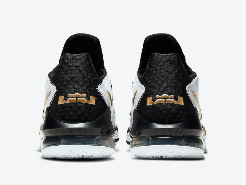Nike Lebron 17 Low Metallic Gold CD5007-101 Now Available 2