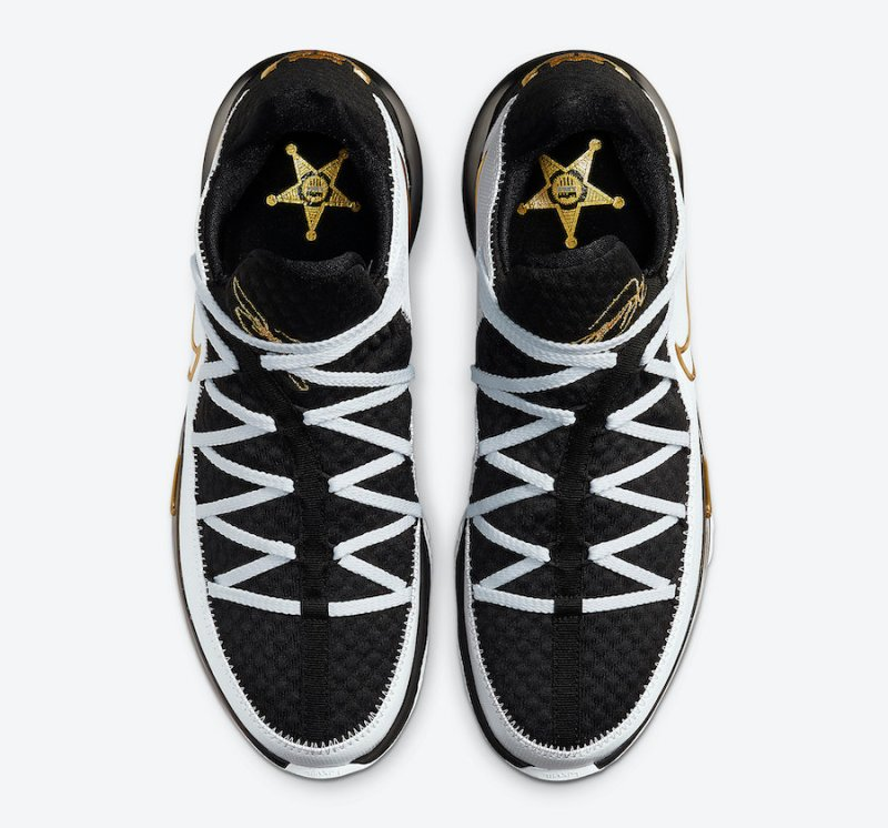 Nike Lebron 17 Low Metallic Gold CD5007-101 Now Available 3