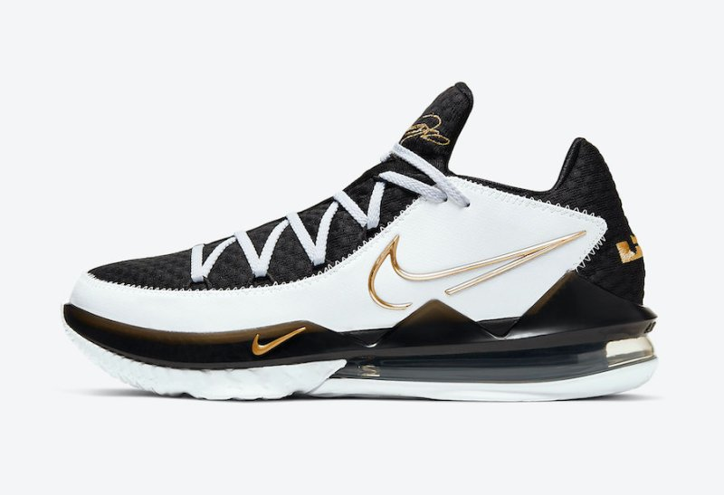 Nike Lebron 17 Low Metallic Gold CD5007-101 Now Available 5