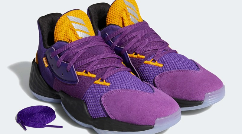 Adidas Harden Vol 4 Lakers Su Casa Pack Fw7496 Where To Buy Uk 1
