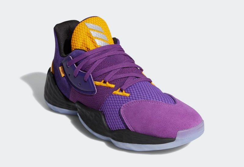 Adidas Harden Vol 4 Lakers Su Casa Pack Fw7496 Where To Buy Uk 4
