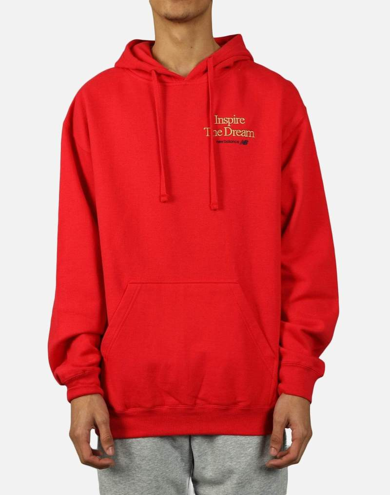 New Balance Inspire The Dream Collection Hoodie Red