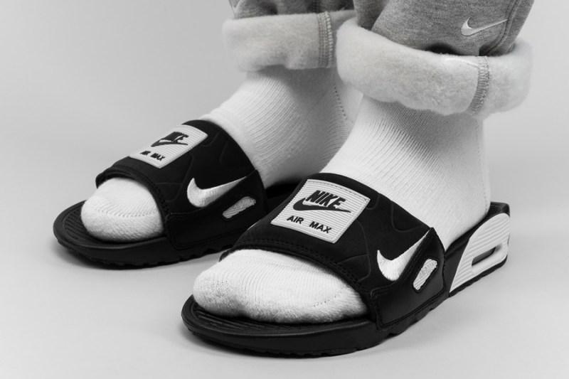 Nike Sportswear Wmns Air Max 90 Slide Ct5241-002 Black White