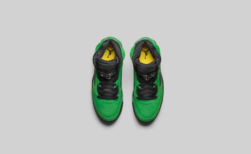 air-jordan-5-se-apple-green-oregon-ck6631-307-release-info 4