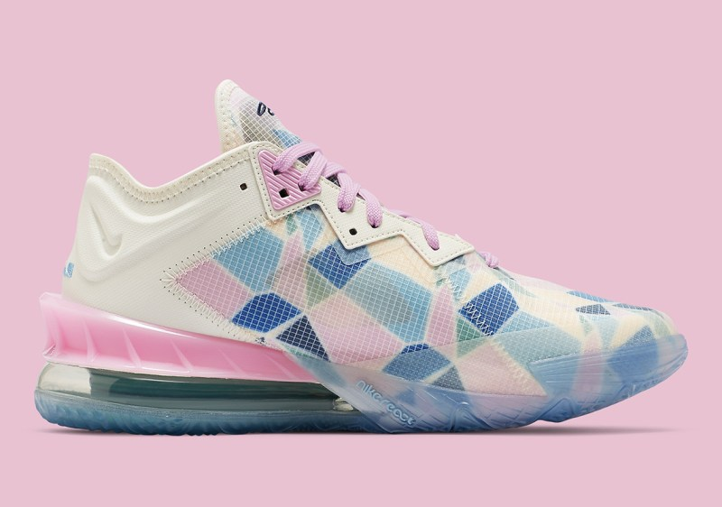 nike-lebron-18-low-x-atmos-cherry-blossom-cv7562-101-release-date 3