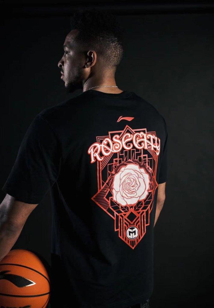 Li Ning CJ McCollum Rose City T Shirt