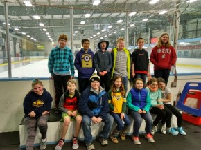 Ice Skating fieldtrip during our unit study on Canada