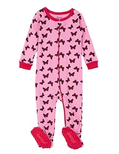 Petit Lem Boys Cloud Stripe 1 Piece Footie Pajama