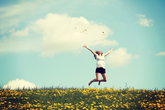 spring jumping