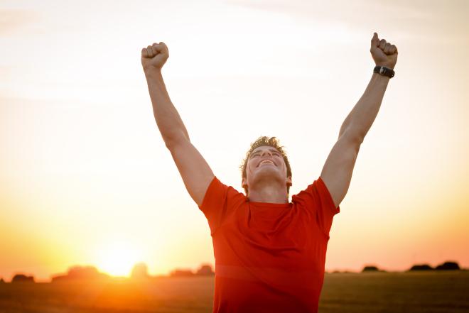 runner victory