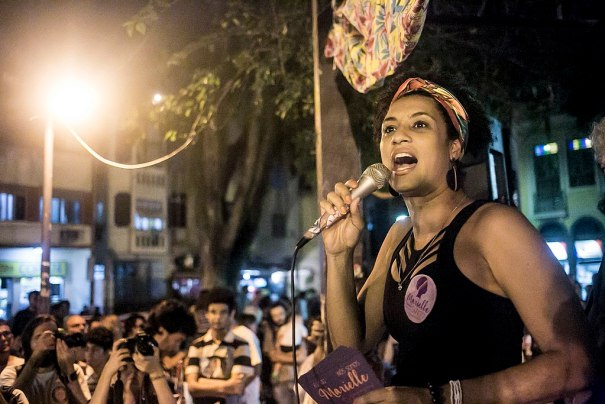 Marielle Franco em agosto de 2016 by Mídia Ninja under Creative Commons Attribution Alike 2.0 Generic.