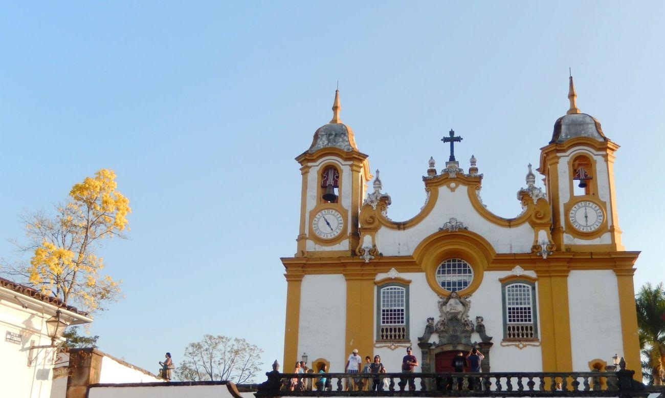 Tiradentes Igreja Matriz de Santa Antônio, Minas Gerais