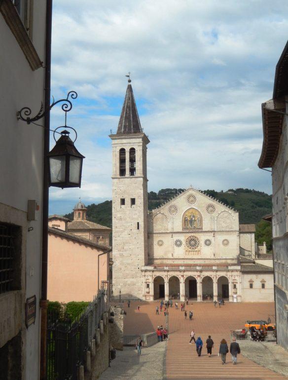 Spoleto Cathedralin Umbria by footloose lemon juice