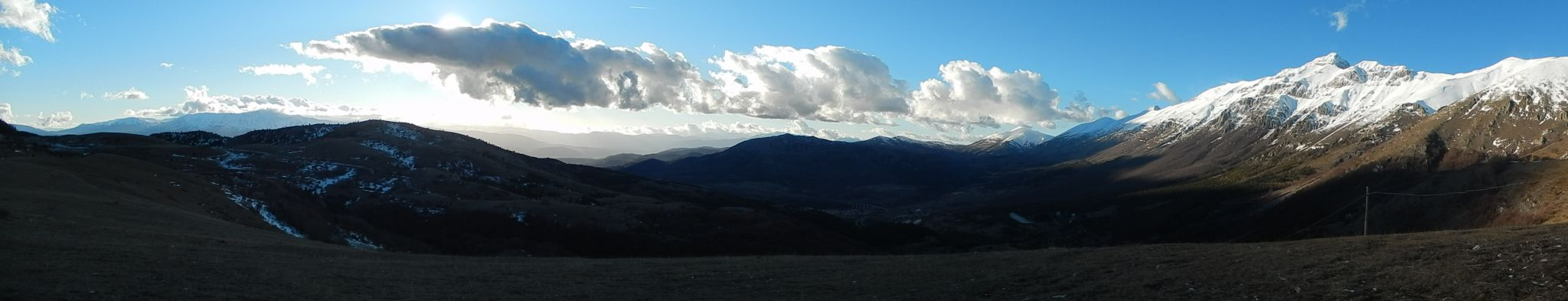 L`Áquila Gran Sasso- secret regions of Italy Abruzzo