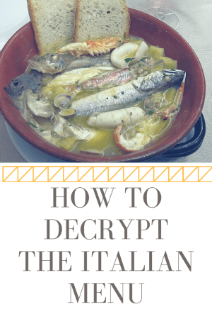 How to Decrypt the Italian Menu by Footloose Lemon Juice