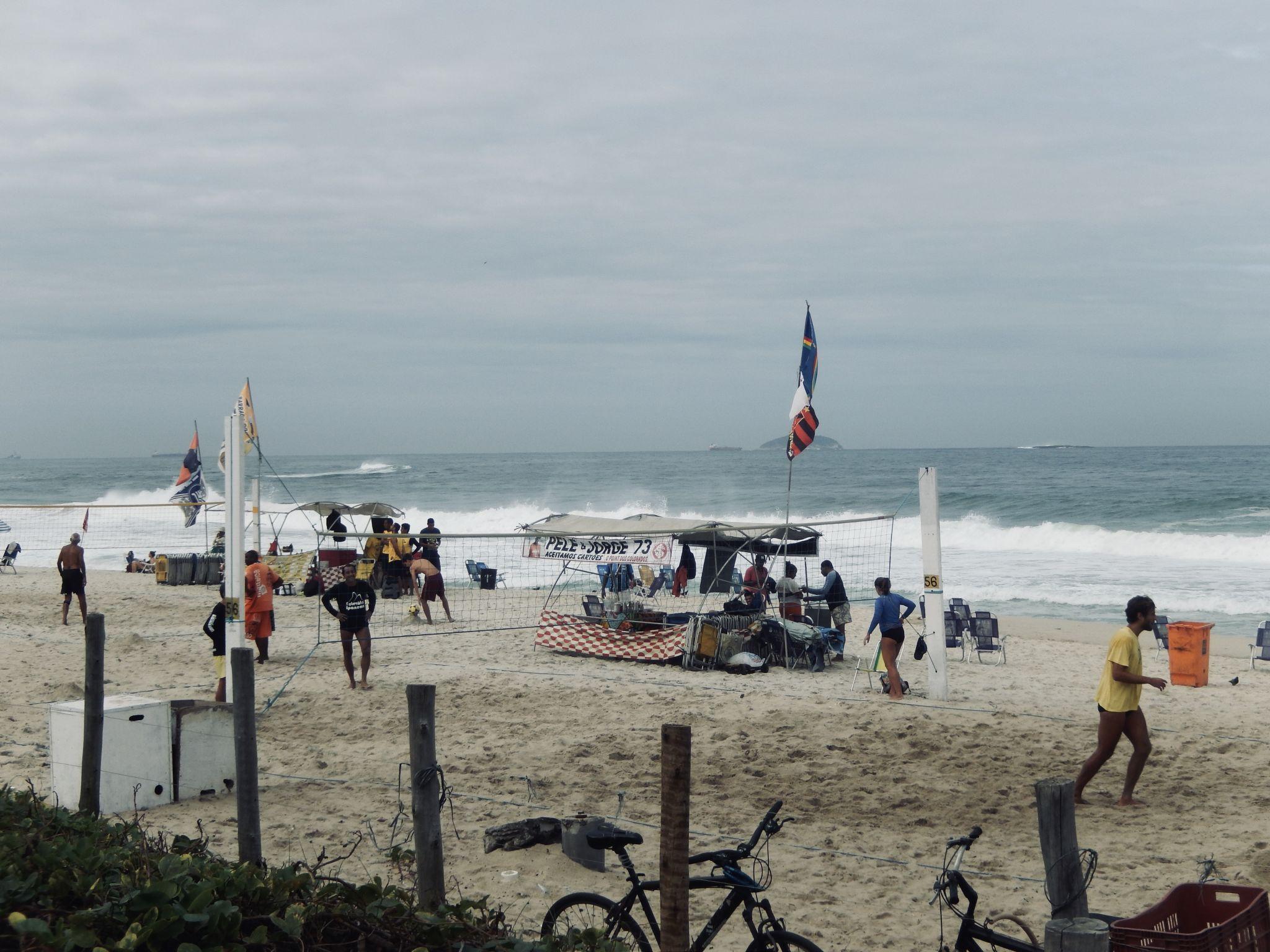 Beach volley is cheap in Rio de Janeiro